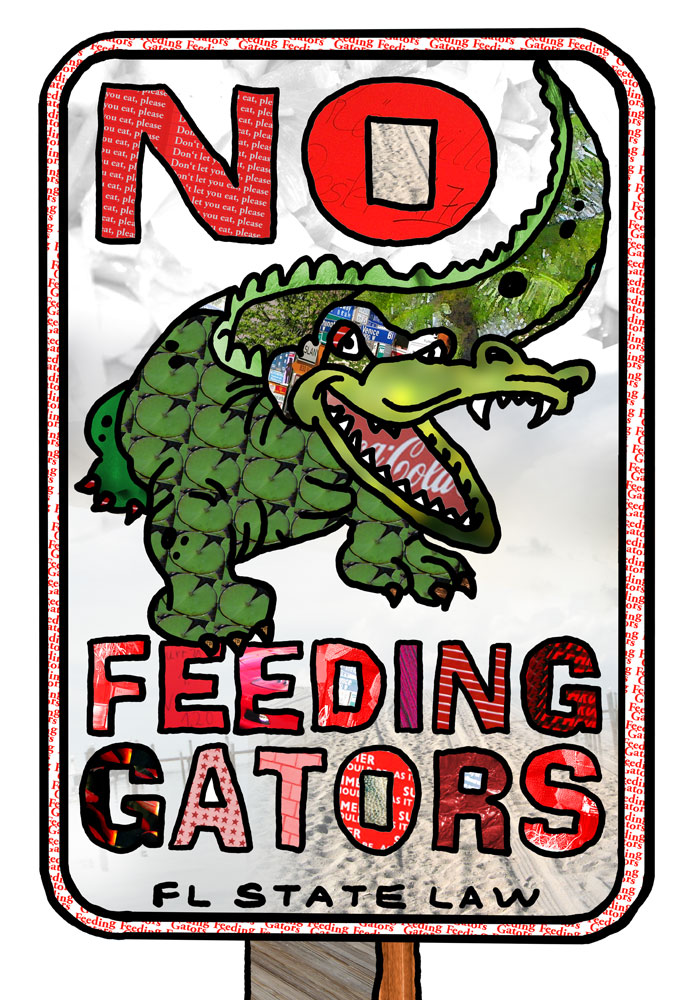No Feeding Gators